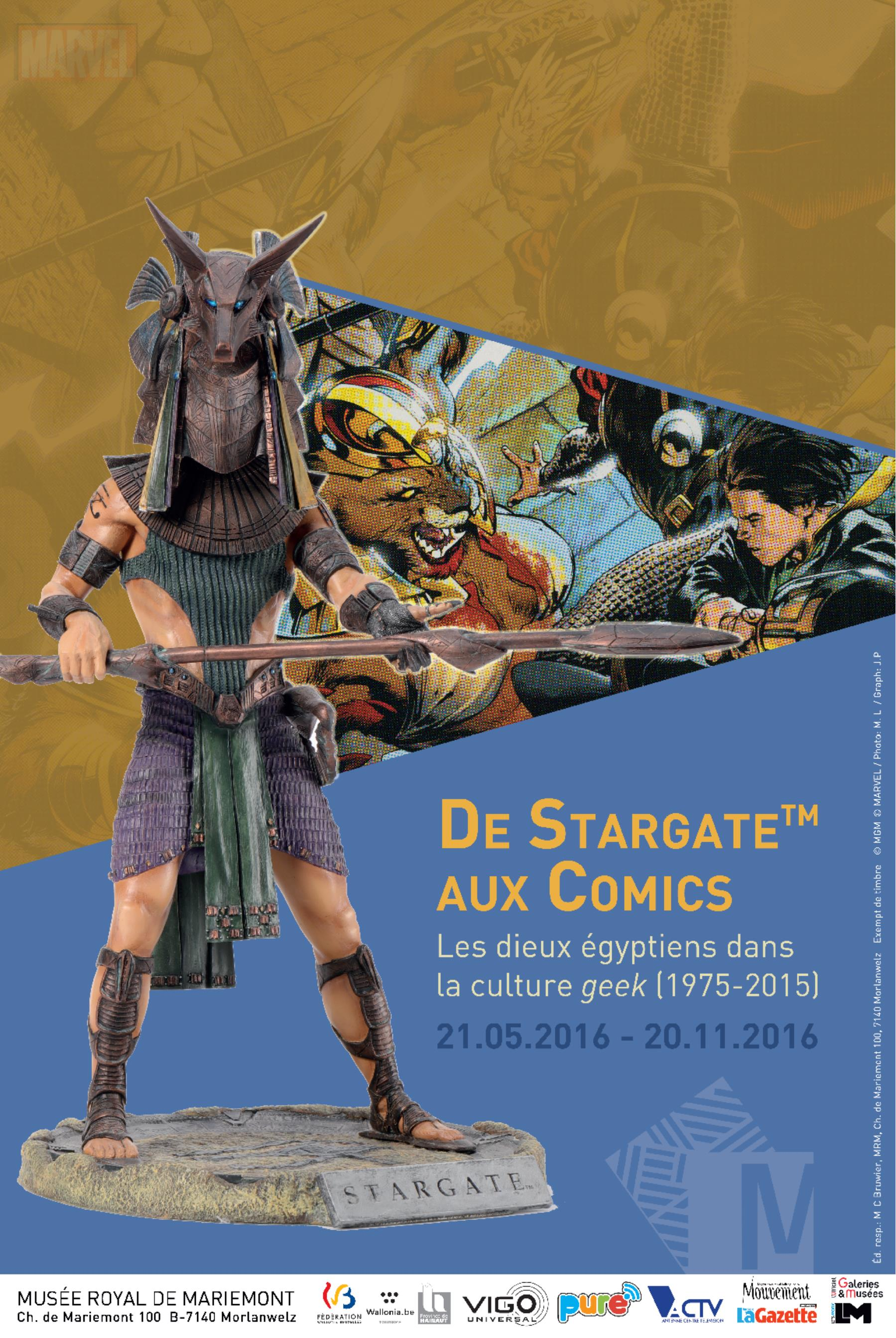 Affiche expo Stargate