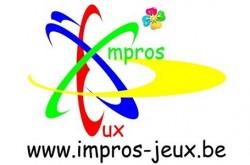 Impros-j'eux Logo