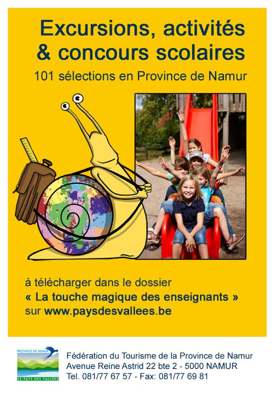 F d ration du tourisme de la province de namur - Office du tourisme de namur ...